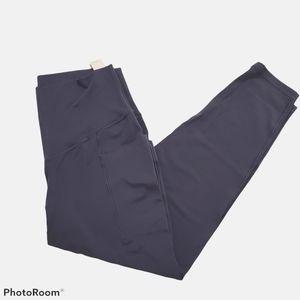 Aerie offline navy 7/8 short leggings size xlarge